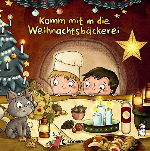 Komm mit in die Weihnachtsbäckerei: Pappbilderbuch ab 2 Jahre
