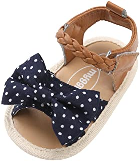 DAY8 Sandales Fille Bébé Princesse Mode Chaussure Bébé Fille Bapteme Été Pas Cher Chaussures Bébé Fille Premier Pas Sandal...