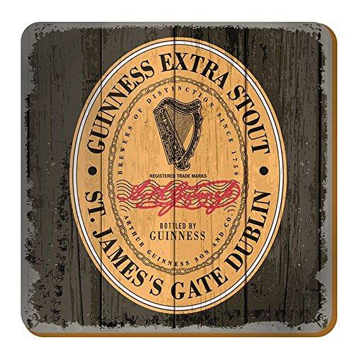 McLaughlin's Irish Shop Nostalgie - Sottobicchieri, motivo: Guinness James's Gate Dublino
