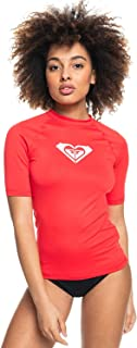 Roxy Women's Whole Hearted - Short Sleeve Rash Vest for Women Rash Guard Shirt