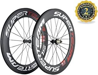 Superteam Carbon Cyclocross Wheelset 88mm Road Wheel Clincher Decals for Bicycles