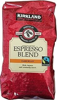 Kirkland Starbucks roasted espresso coffee (bean) 907gX2 pack