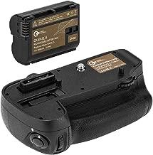Green Extreme MB-D15 Battery Grip for Nikon D7100 & D7200 + High Capacity 2000mAh EN-EL15 Battery