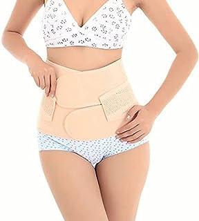 کمربند کمر Healthcom کمربند لاغری باند بند شکم بند زنان شکم زنان باردار پس از زایمان کمربند پس از زایمان پشتیبانی پس از زایمان شکاف کمربند کمربند (اندازه: M)