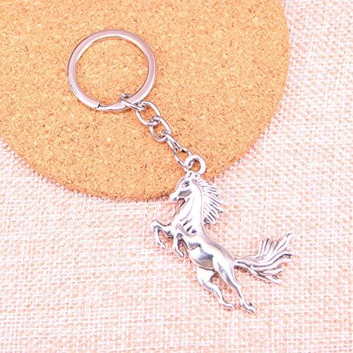 YCEOT Running Horse Charm hanger sleutelhanger sleutelring ketting accessoires sieraden maken voor geschenken