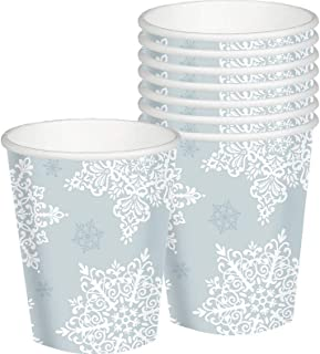 Shining Season Christmas Paper Cups For Party, 9 Oz, 50 Ct.