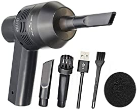 New Cordless Mini Computer Vacuum, Portable Rechargeable Vacuum Cleaner Car Pet Vacuum Dust Kit - Cleaning Dust, Hairs, Crumbs, Scraps, Cigarette Ash for Laptop, Keyboard, Makeup Bag, Car, Pet House