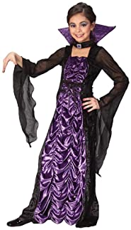 Fun World Purple Vampiress Costume, Medium 8 - 10, Purple