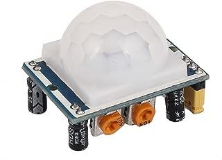 DealMux 32mmx24mm Módulo de Detector de Sensor de Movimiento PIR infrarrojo piroeléctrico infrarrojo Ajustable