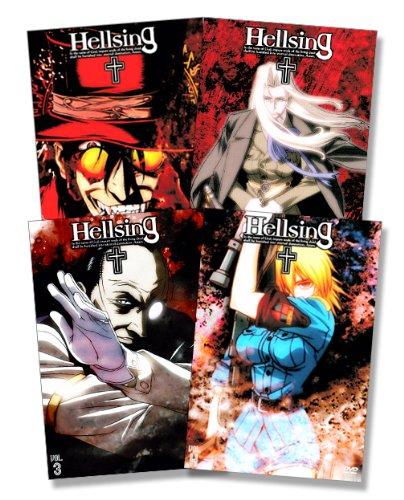 Hellsing Vol. 1-4 (Uncut Version) - Blood Edition (4 DVDs)