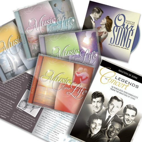 Music Of Your Life 9 CDs + DVD + booklet - As Seen On TV