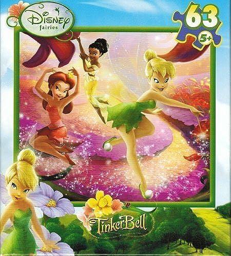 Ahorre 35% - 70% de descuento Disney Fairies TinkerBell Buttercup Canyon 63 Piece Puzzle by by by Mega Brands International  los últimos modelos