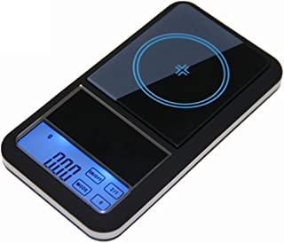 CGOLDENWALL 500g x 0.01g Mini Jewelry Diamond Gem Scale Touch Screen LCD Digital Pocket Balance Electronic Weighting Scale
