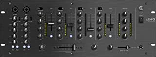 IMG STAGELINE MPX-44/SW 6-kanaals stereo DJ-mengpaneel