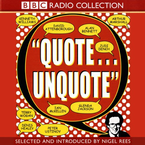 Quote Unquote audiobook cover art