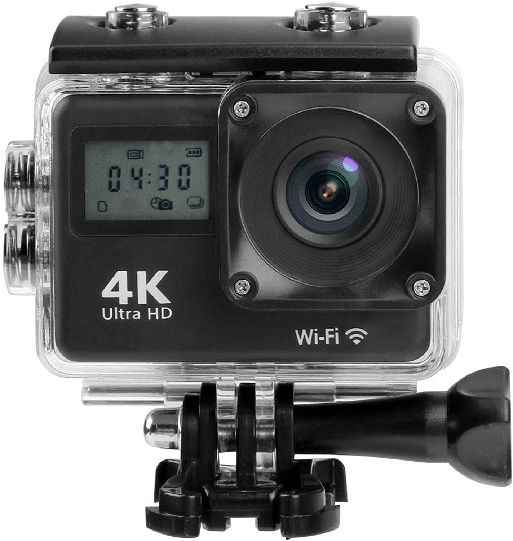 Mini Dual Screen 170°Lens 4K WiFi Action Camera Waterproof Camcorder Webcam by SturdCelleau