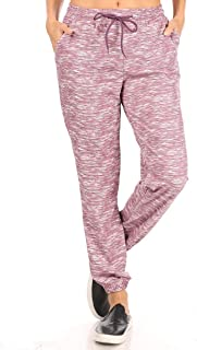 ShoSho Womens Joggers Pants with Pockets Track Bottoms Brush