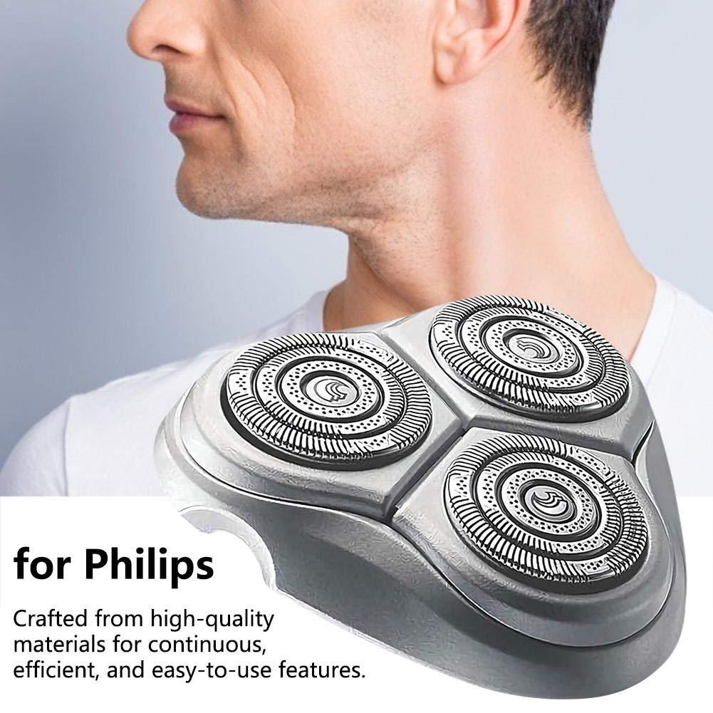 Piezas de repuesto de cabezal de afeitadora eléctrica para Philips ...