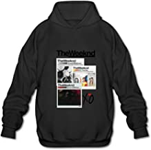HUBA Men's Hoodie The Weeknd House Of Balloons-echoes Silence Ash
