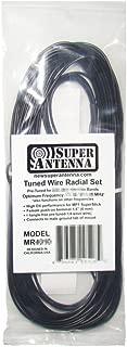 Super Antenna MR6060 SuperWire Radial Set for HF Vertical Antennas 60m 5MHz Band ham Radio MP1 Ground Plane