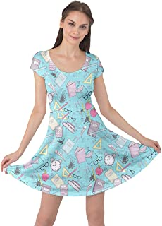 math print dress