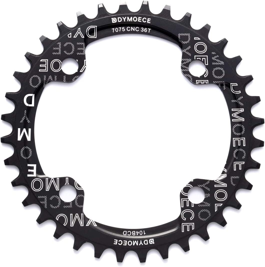 Dymoece Narrow Wide Bike Single Chainring 34T 104BCD 32T 38T Large discharge sale Max 90% OFF 36T