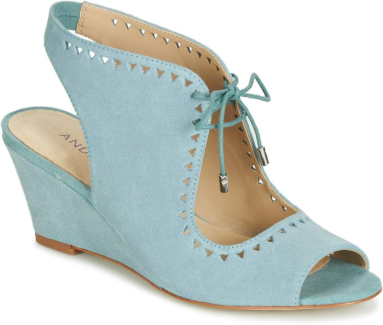 André Scoop Sandalen Sandaletten Damen Damen Damen Blau Sandalen Sandaletten  9516e5