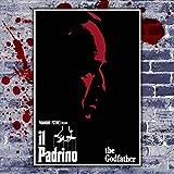 Póster Cinema El Padrino - The Good Father - Formato: 70 x 100 cm - Marlon Brando