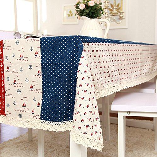 Coton et lin Dentelle Multi-taille Nappes sont utilisés pour les tables de différentes tailles et types et réfrigérateurs machine à laver Table de chevet TV serviette , 140*200cm