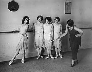 Albertina Rasch (1896-1967) Namerican (Austrian-Born) Dancer Choreographer And Teacher Rasch Instructing A Dance Class In The 1920S Poster Print by (18 x 24)