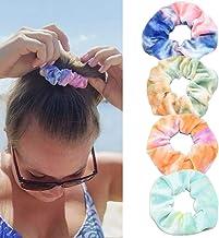 Fdesigner Velet Hair Scrunchies Set Die Tye Hair Ties Scrunchy Elastic Multi Color Hair Bands Minimalist Hair Accessories ...