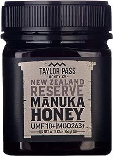 Taylor Pass Honey Co Reserve Manuka Honey UMF 10+ MGO 263+ 8.83oz | NON GMO