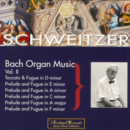 Johan Sebastian Bach : Toccata & Fugue (Organ Music, Vol. 2)