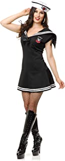 Charades Costumes Women's Wwii Sailor Gal Adult Costume