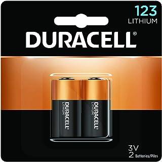 Duracell – Bateria de tamanho de foto de lítio de 123 3V – bateria de longa duração