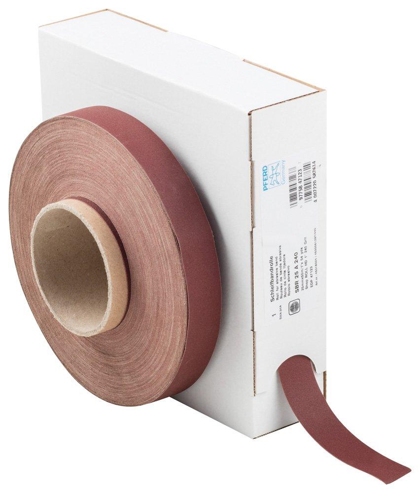 PFERD 47123 Fashionable Heavy-Duty Abrasive Shop Roll 50 Max 90% OFF Oxide Aluminum yd
