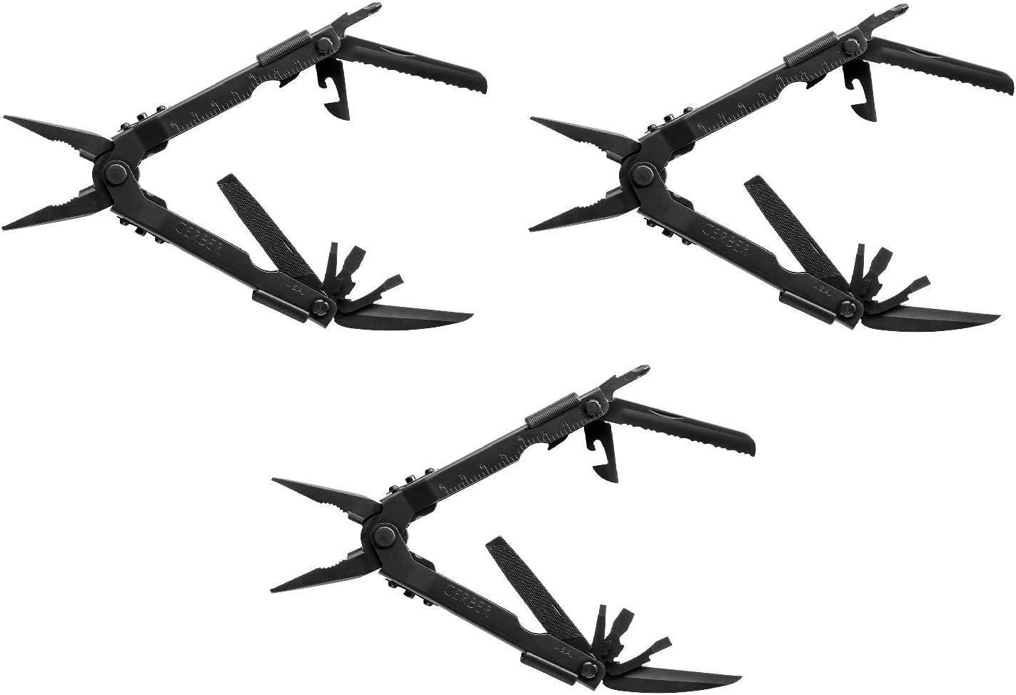 Gerber MP600 Multi-Plier 2021 Version Black 47550 Needle Nose
