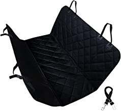 Pet Seat Cover HYSUNG Waterproof Scratch Proof Nonslip Durable Soft Pet Back Seat Covers Hammock for Cars with Seat Belts