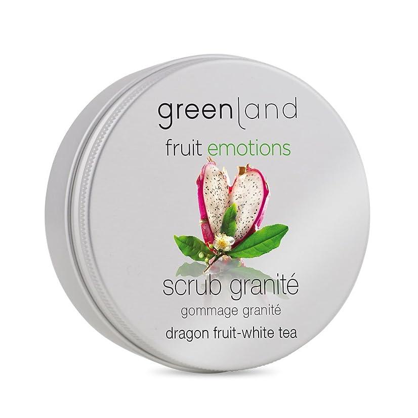 毛皮広い付添人greenland [FruitEmotions] ボディスクラブ 200ml ドラゴンフルーツ&ホワイトティー FE0428