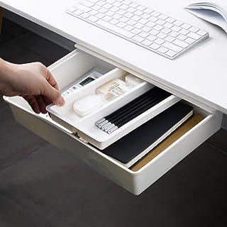 Under Desk Drawer, Ochine Under Desk Storage, Under Desk Pencil Drawer Organizer, Under Table Storage, Adhesive Desk Drawe...