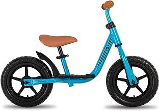 """JOYSTAR 10""""/12"""" Kids Balance Bike with Footrest for Girls & Boys, Ages 18.."""