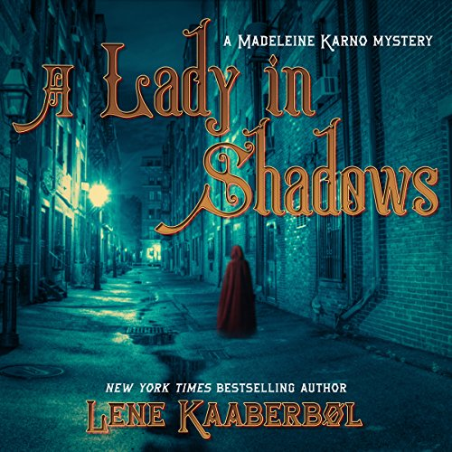 A Lady in Shadows audiobook cover art