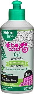 Gel Uso Diário 320 ml to de Cacho Babosa Unit, Salon Line