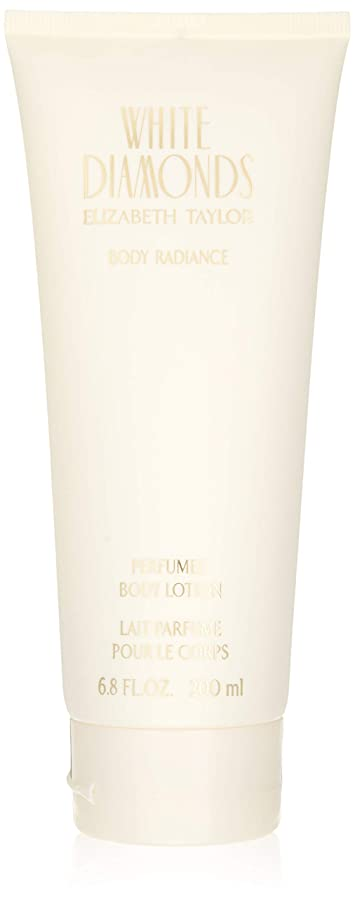 奨学金生息地類人猿White Diamonds for Women 6.8 oz Body Lotion