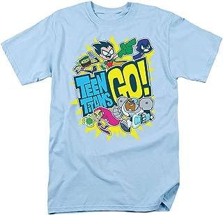 Teen Titans Go! Squad Adult T Shirt & Stickers