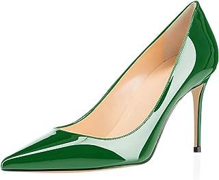 Women's High Heel Pumps - Classy Pointy Toe Pumps_- Office Wedding Party Event Comfort Heels