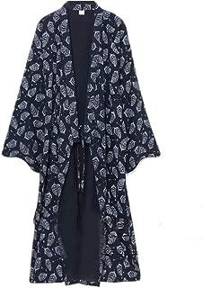 Men's Yukata Robes Kimono Robe Khan Steamed Clothing Pajamas #07