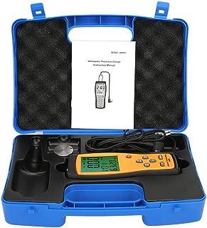 Medidor de espesor digital, SMART SENSOR AS860 Medidor de espesor de ultrasonido digital Medidor de velocidad del sonido 1.0-300.0mm (Acero)