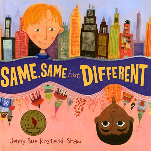 Same, Same But Different audiobook cover art
