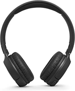 JBL T500BT On-Ear, Wireless Bluetooth Headphone One Size Black